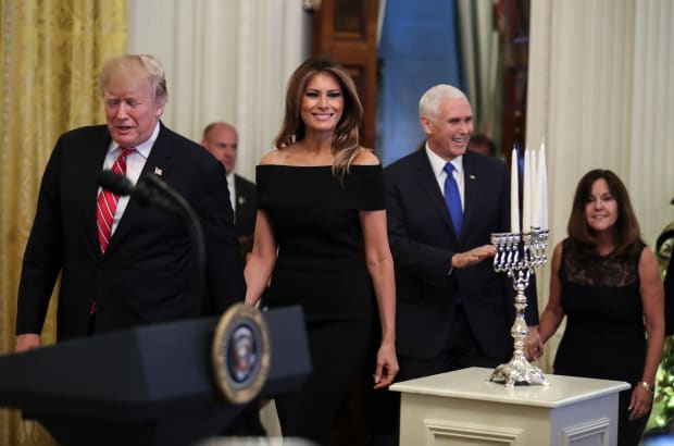 Viewfinder: A Hanukkah Reception at the White House