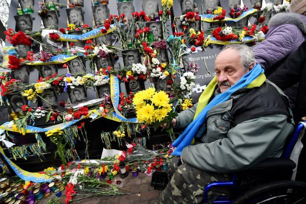 Viewfinder: Commemorating the Violent End of Ukraine's Revolution