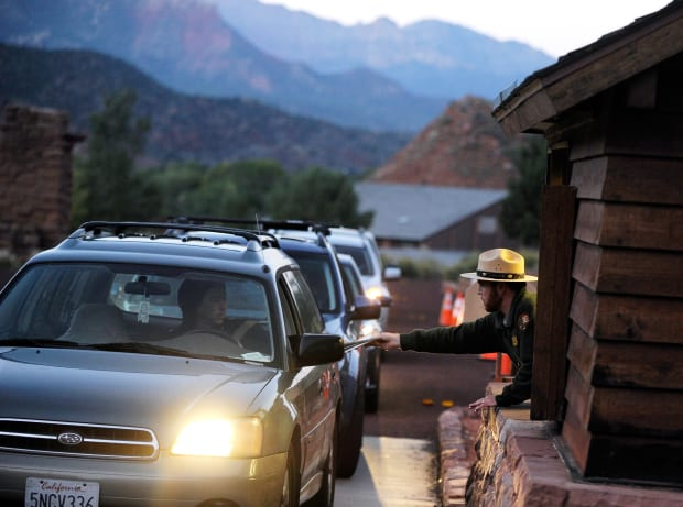 The National Park Service Spent Over $250 Million in 'Unobligated' Funds to Keep Parks Open During the Shutdown