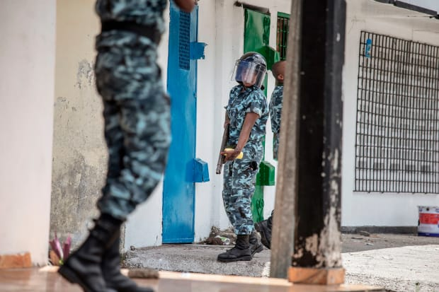 Viewfinder: Comoros Police Quell Protests Over the Presidential Election