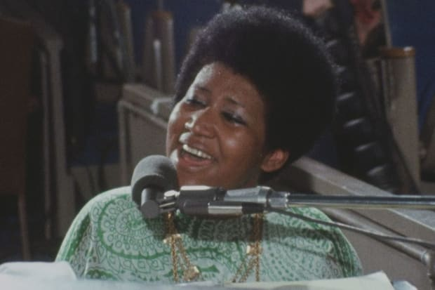 The Resurrection of Aretha Franklin in 'Amazing Grace'
