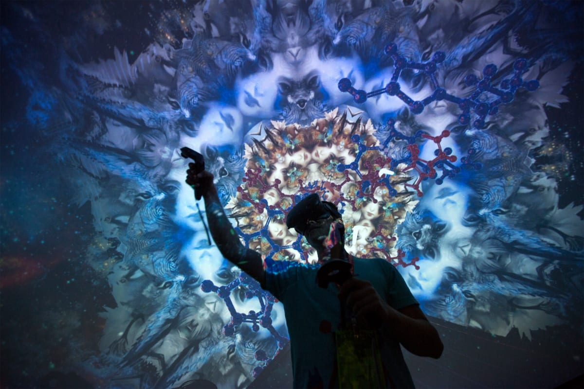 Can Virtual Reality Replace Psychedelic Drugs?