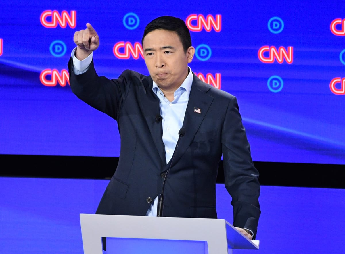 Andrew Yang's Doom-and-Gloom Climate Statement Shows His Silicon Valley Roots