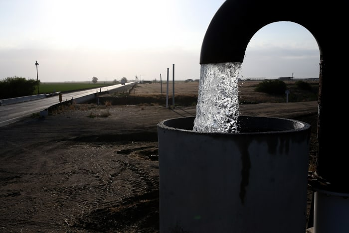 Groundwater Depletion May Cause Domestic Wells to Dry Out