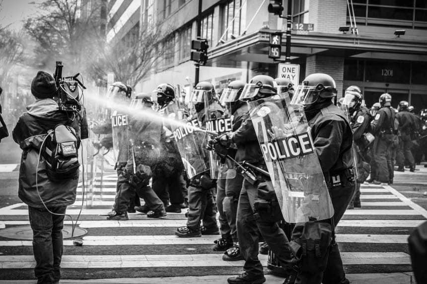 Taking Freedom Yes Black America Fears The Police Here