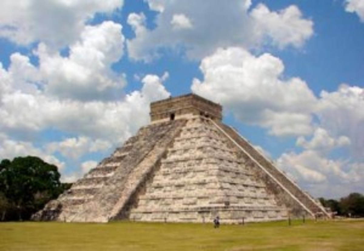 The Mayan ruins of Chichén-Itzá on Mexico's Yucatan Peninsula were once covered in a lush forest canopy. Prevailing thought has deforestation as the cause of Maya's downfall, but one researcher has another theory: The Maya didn't raze the forest, but adapted with it. (Wikipedia.org)