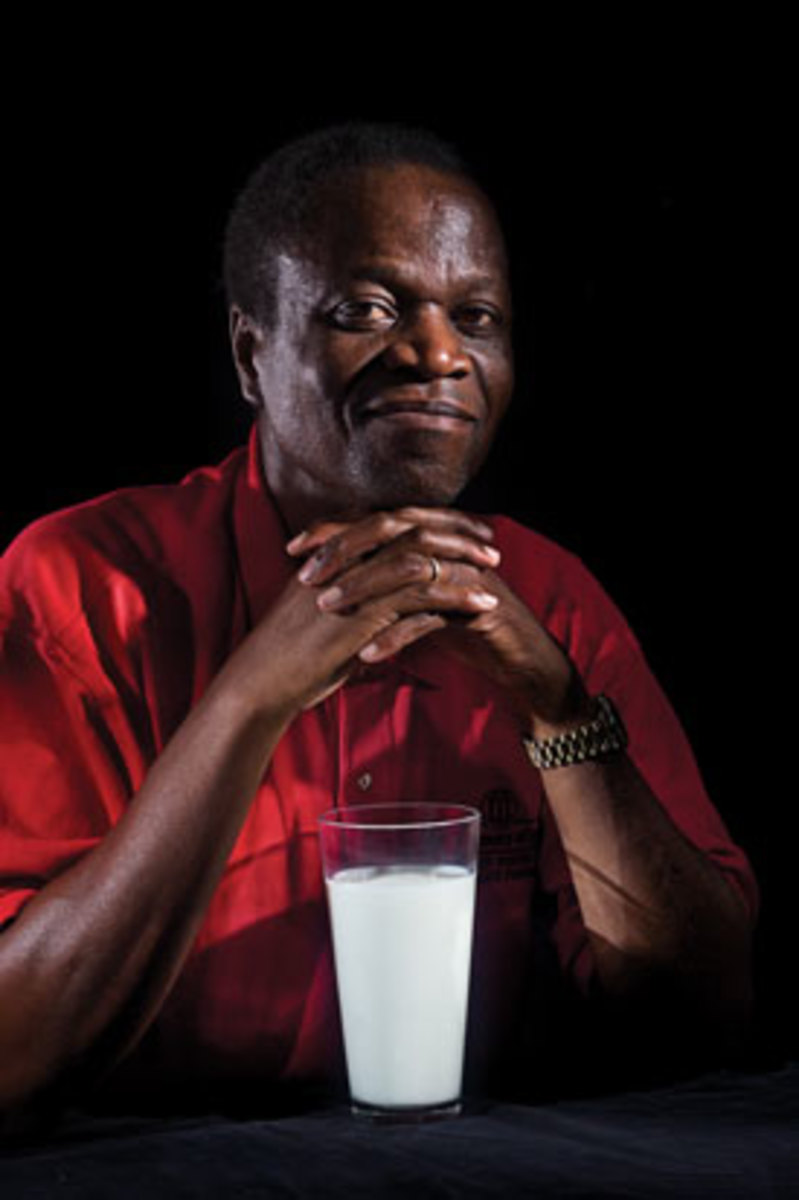 William Kisaalita received a $200,000 grant from the World Bank to commercialize his milk cooler product. (Flip Chalfant)