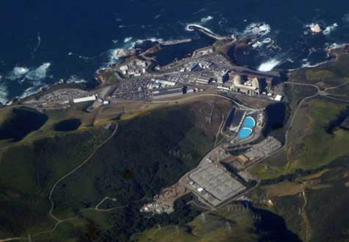 Diablo Nuclear Power Plant, San Luis Obispo. (Wikipedia.org)
