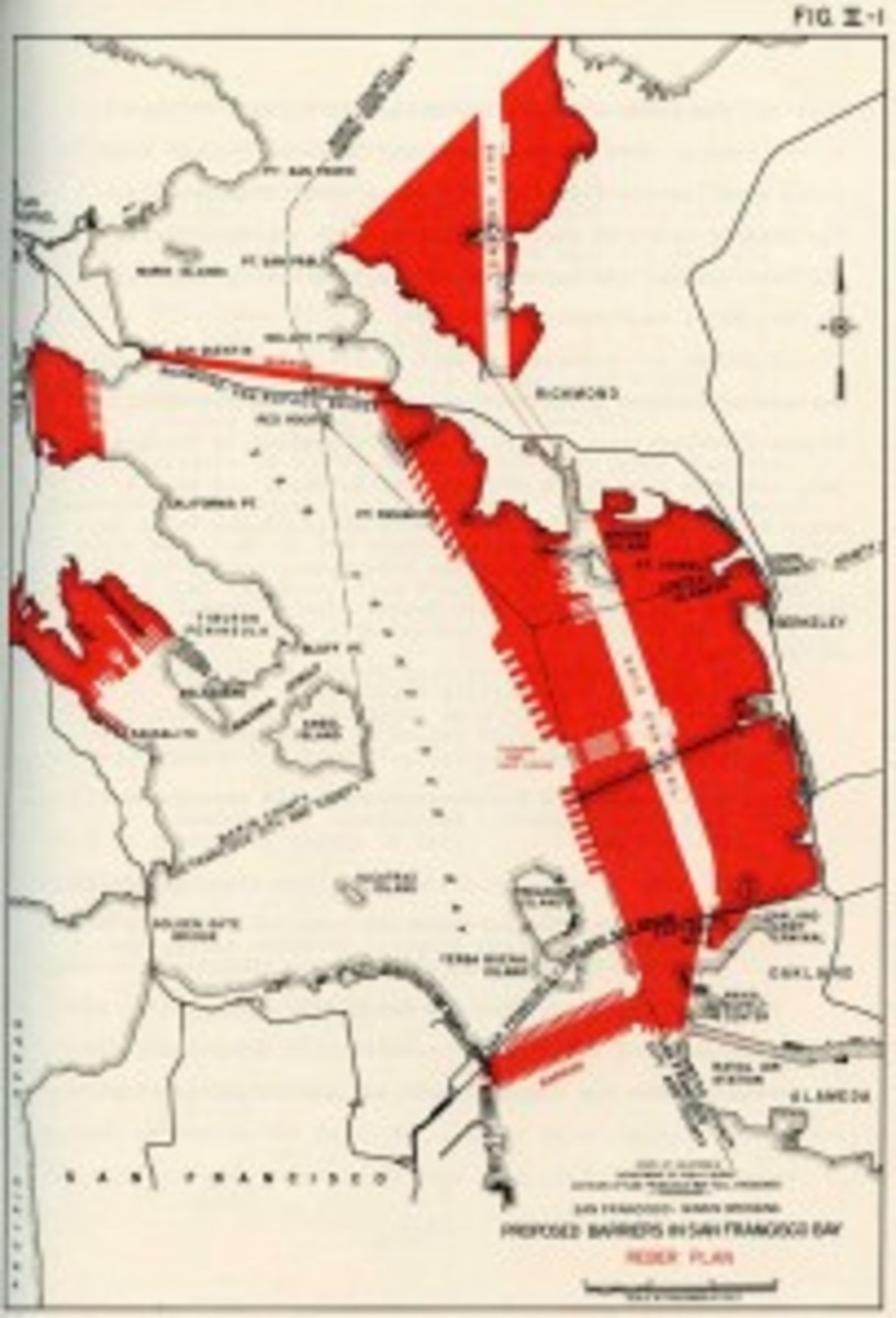 Map that was included in the Reber Plan. Click to enlarge.