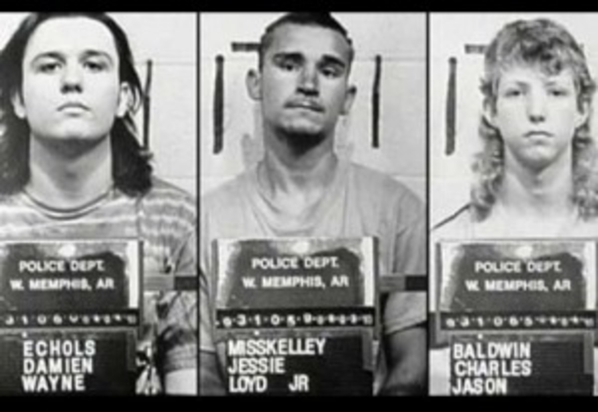 "Pictured: the West Memphis 3. A new HBO documentary, ""Paradise Lost 3,"" is the latest installment in the series chronicling the 1993 case of three children brutally murdered in Arkansas."