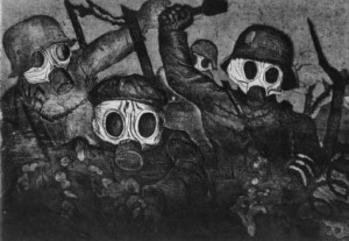 "Otto Dix's ""Stormtroopers Advance Under Gas,"" as seen in the new documentary ""Art Is: The Permanent Revolution."" (First Run Features)"