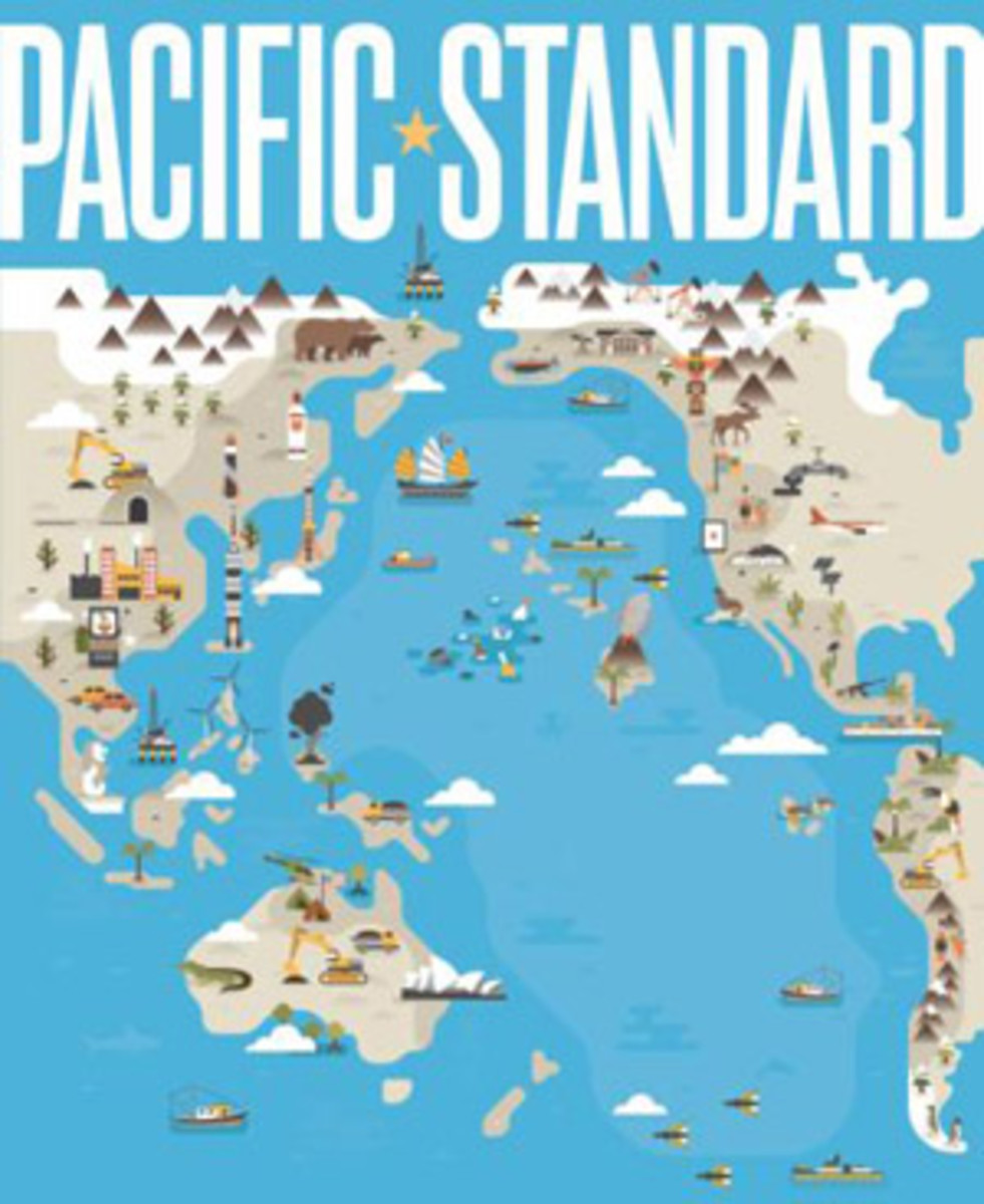 Pacific Standard Debut Cover