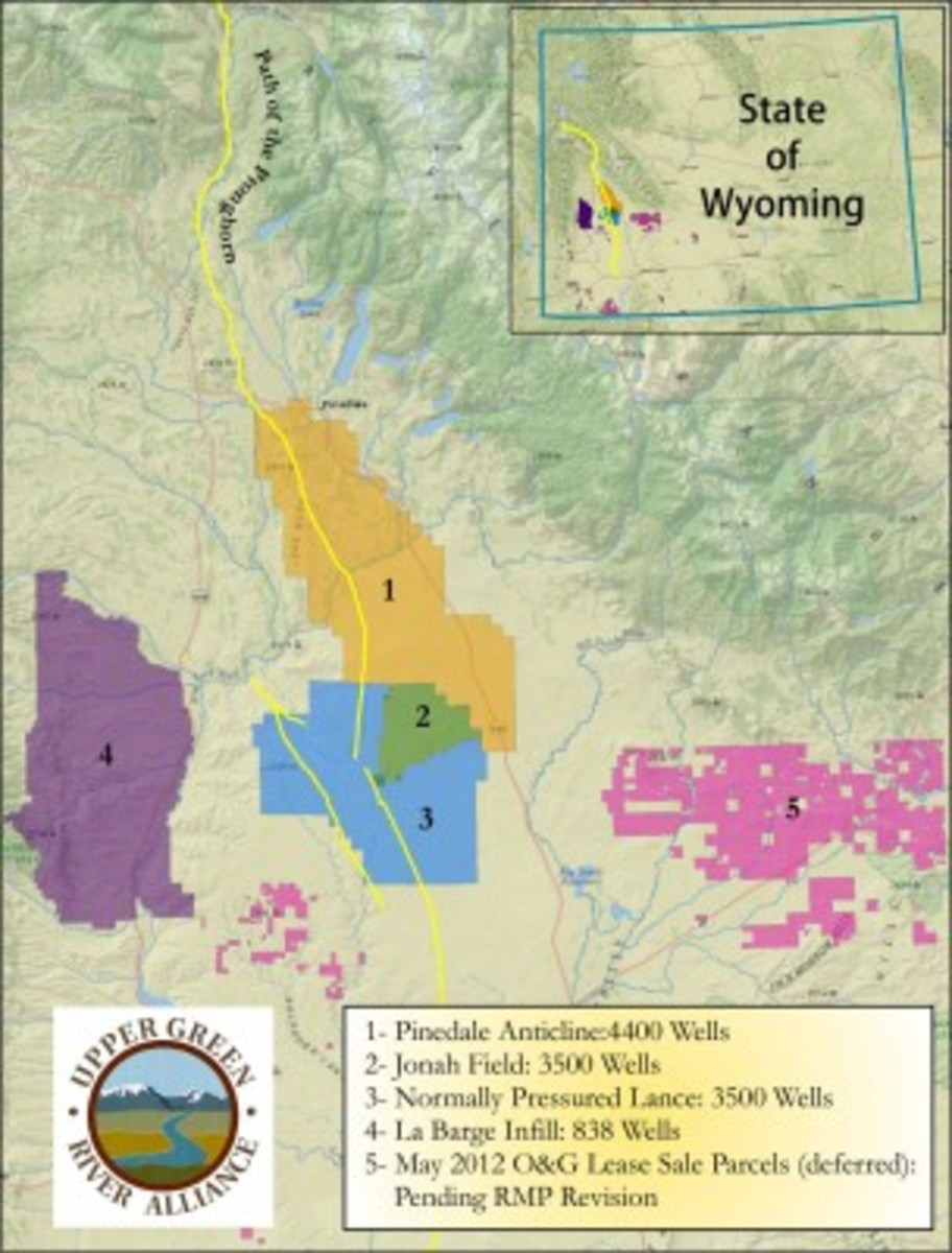 Fracking In Wyoming Map.Fracking Away The Wildlife Pacific Standard
