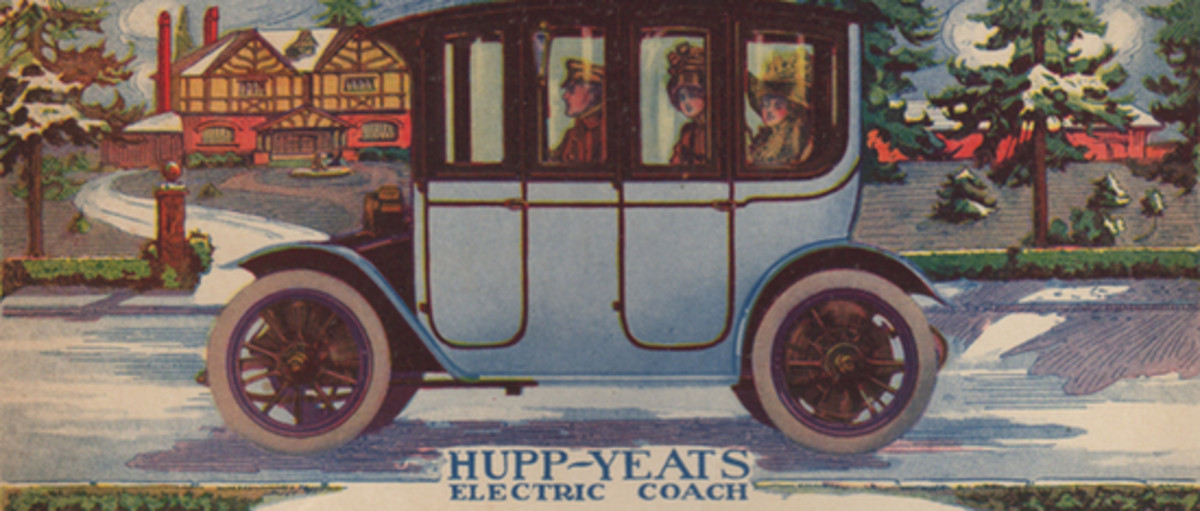The First Golden Age of Electric Car Advertising - Pacific Standard