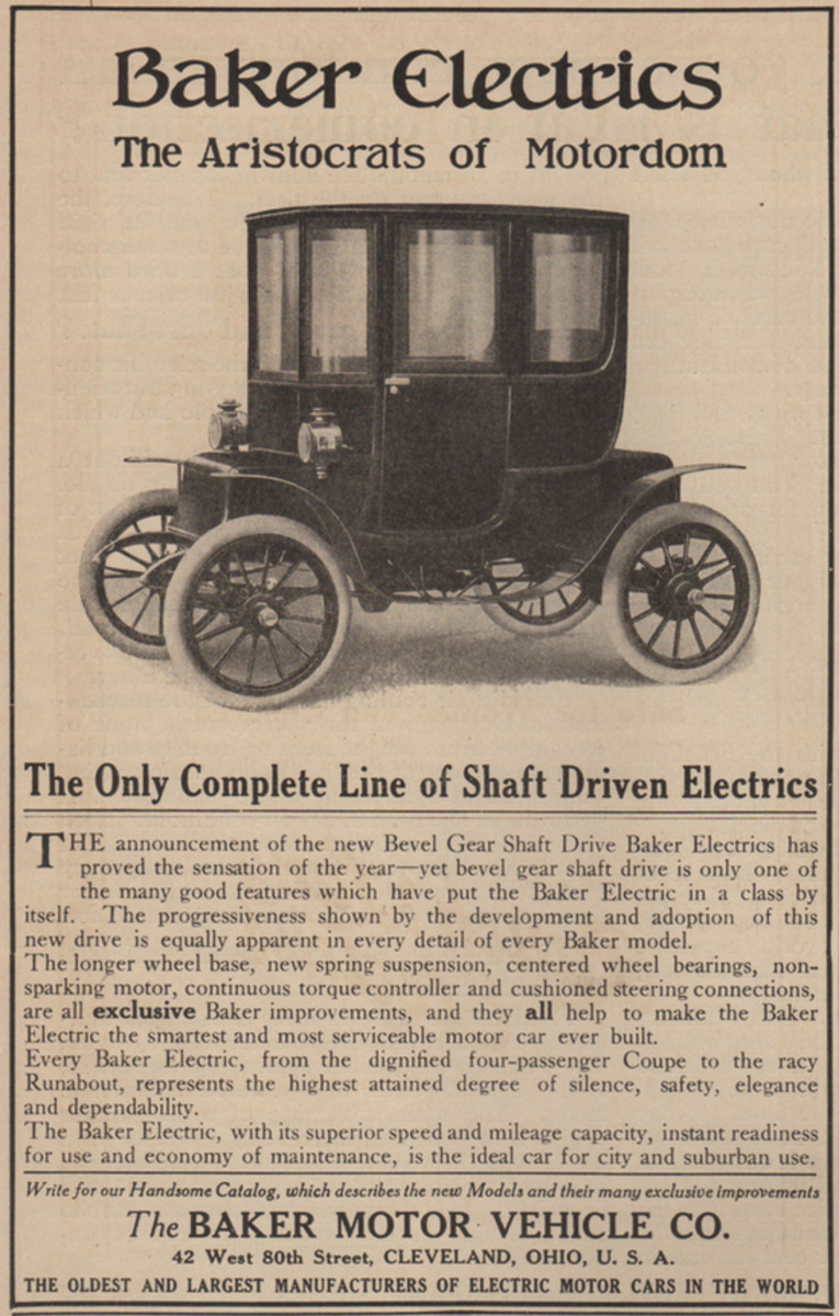 The First Golden Age of Electric Car Advertising - Pacific