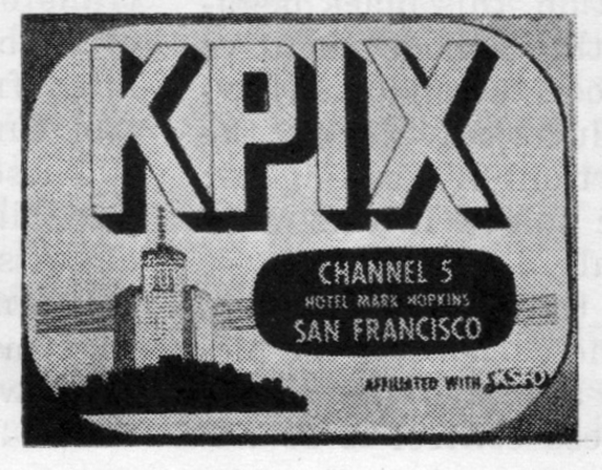 The TVs Are Coming! Station ID Cards From 1951 - Pacific Standard