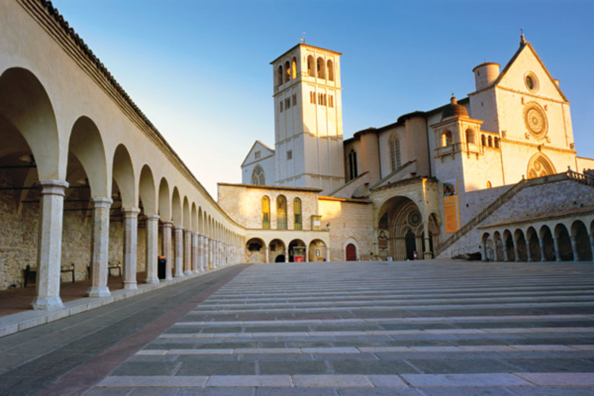 The design of the Basilica of San Francesco d'Assisi, in Italy, helped prompt the polio vaccine. (PHOTO: GETTY IMAGES)
