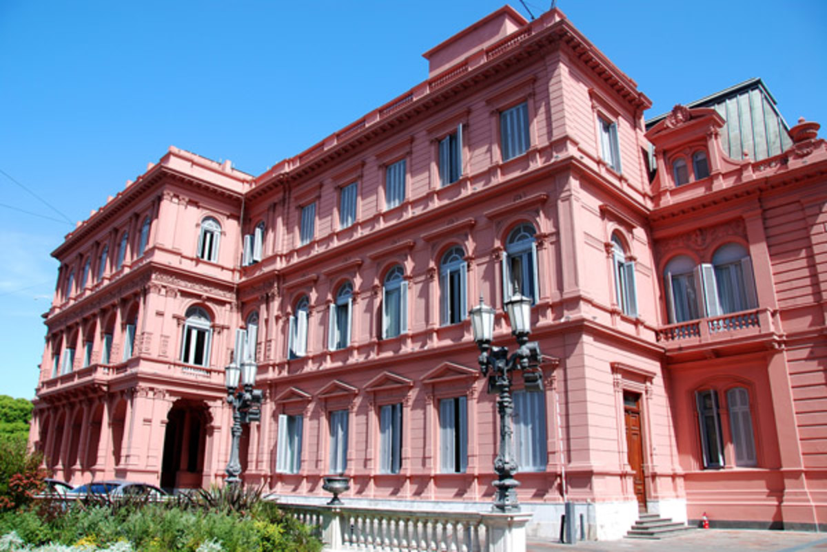 La Casa Rosada, the seat of Argentina's executive branch. (PHOTO: )