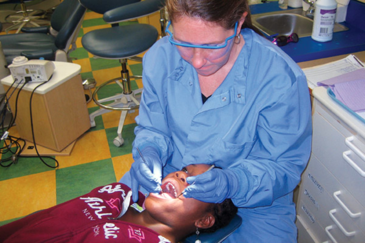"""No longer will seeing a dentist be the only means to entering the dental system,"" dental therapist Christy Jo Fogarty told the U.S. Senate in 2012."