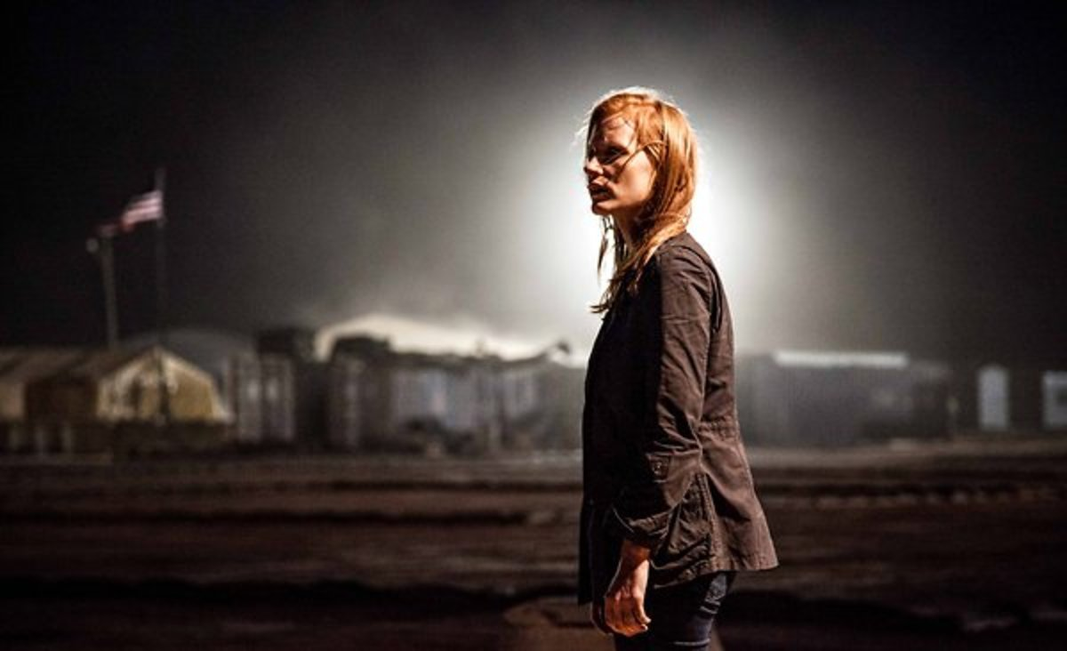 "Jessica Chastain portrays the CIA analyst Maya in the new movie ""Zero Dark Thirty."" (PHOTO: SONY PICTURES)"