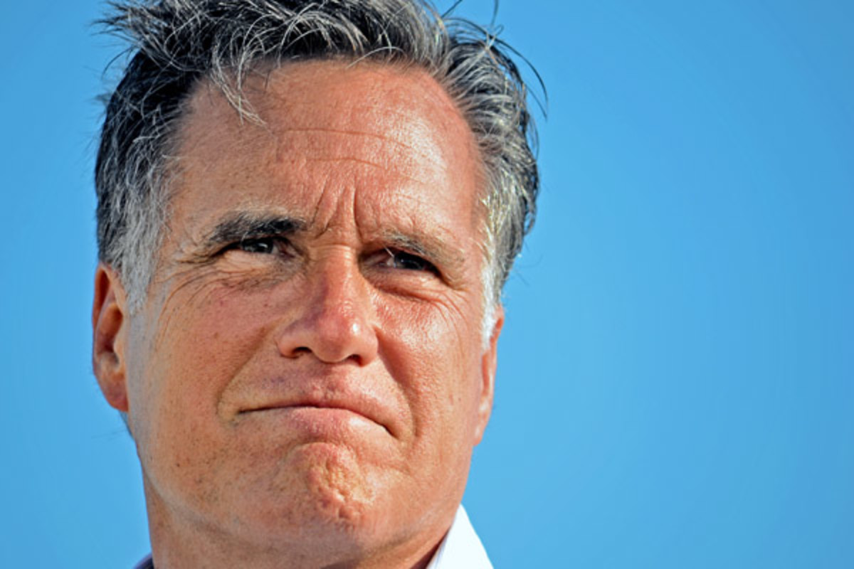 Mitt Romney at a 2012 campaign rally in Holland, Michigan (PHOTO: MARIA DRYFHOUT/SHUTTERSTOCK)
