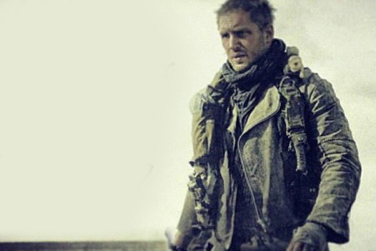 A rare still from 'Mad Max: Fury Road,' with Tom Hardy in the role of Max Rockatansky