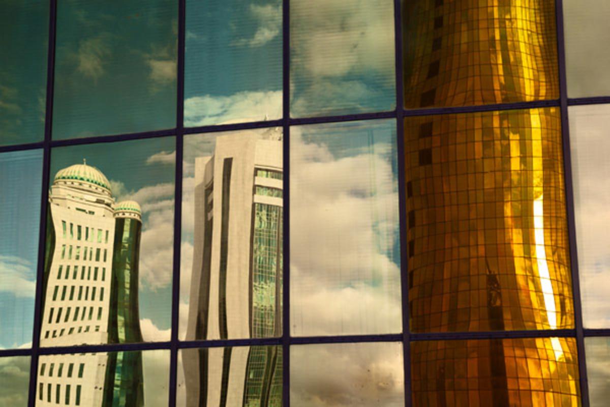 Distorted City