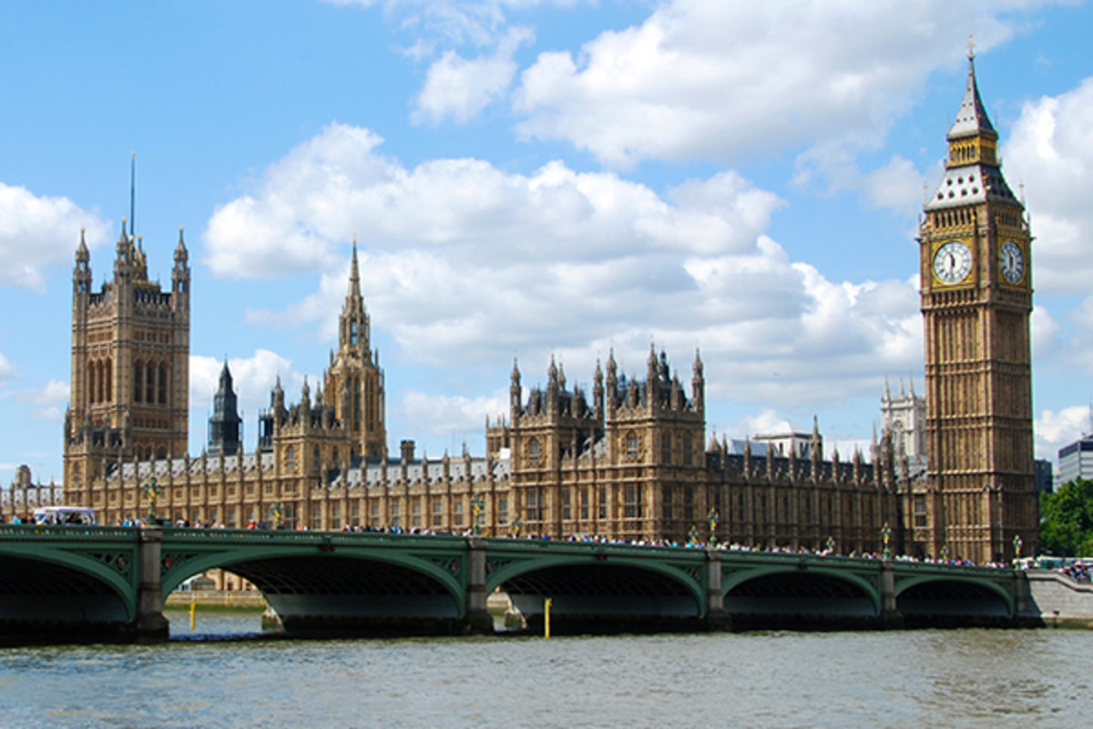 The Houses of Parliament. (PHOTO: DAVID MASKA/SHUTTERSTOCK)