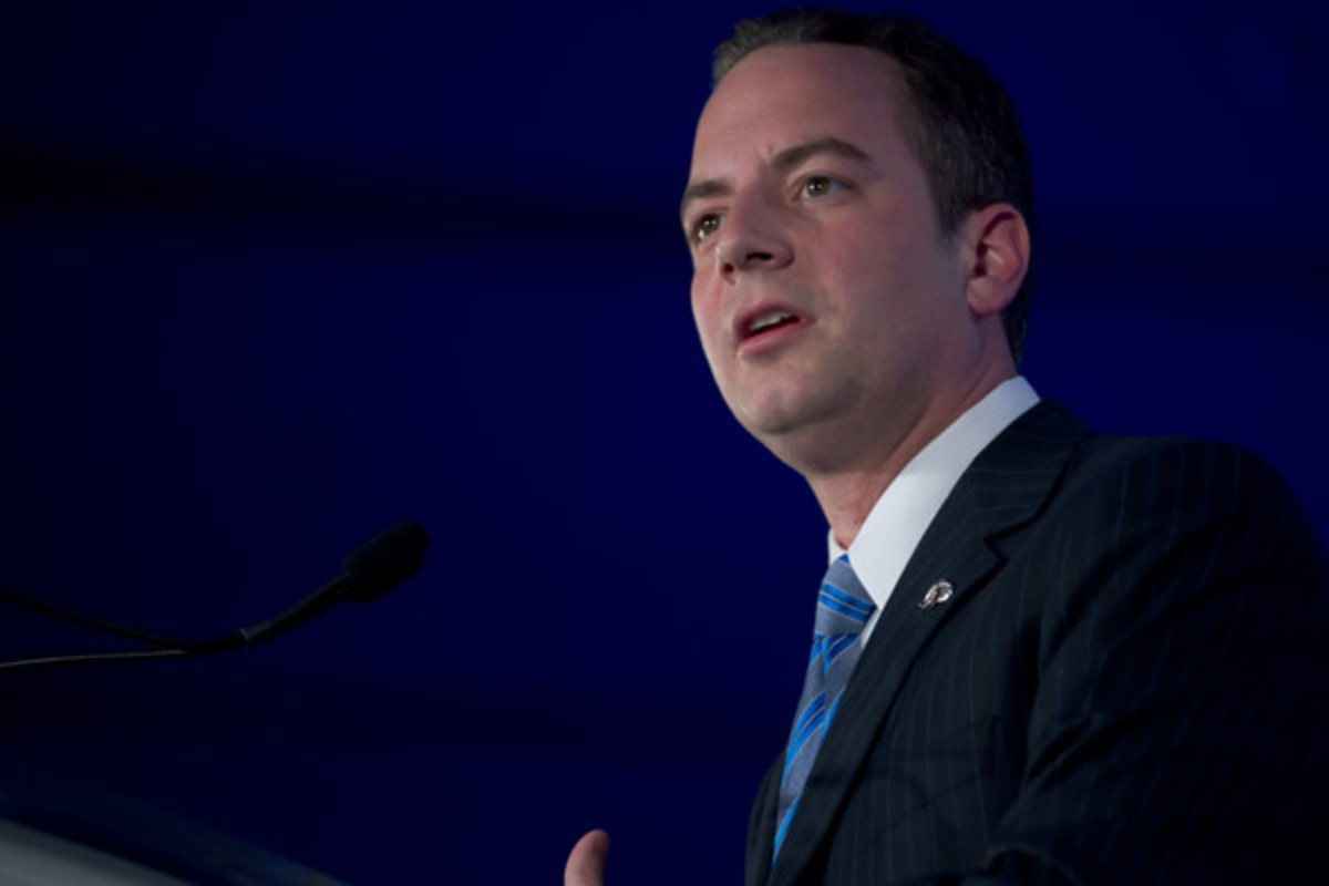 Republican National Committee Chairman Reince Priebus addresses the Republican Leadership Conference in New Orleans in 2011. (PHOTO: CHRISTOPHER HALLORAN/SHUTTERSTOCK)