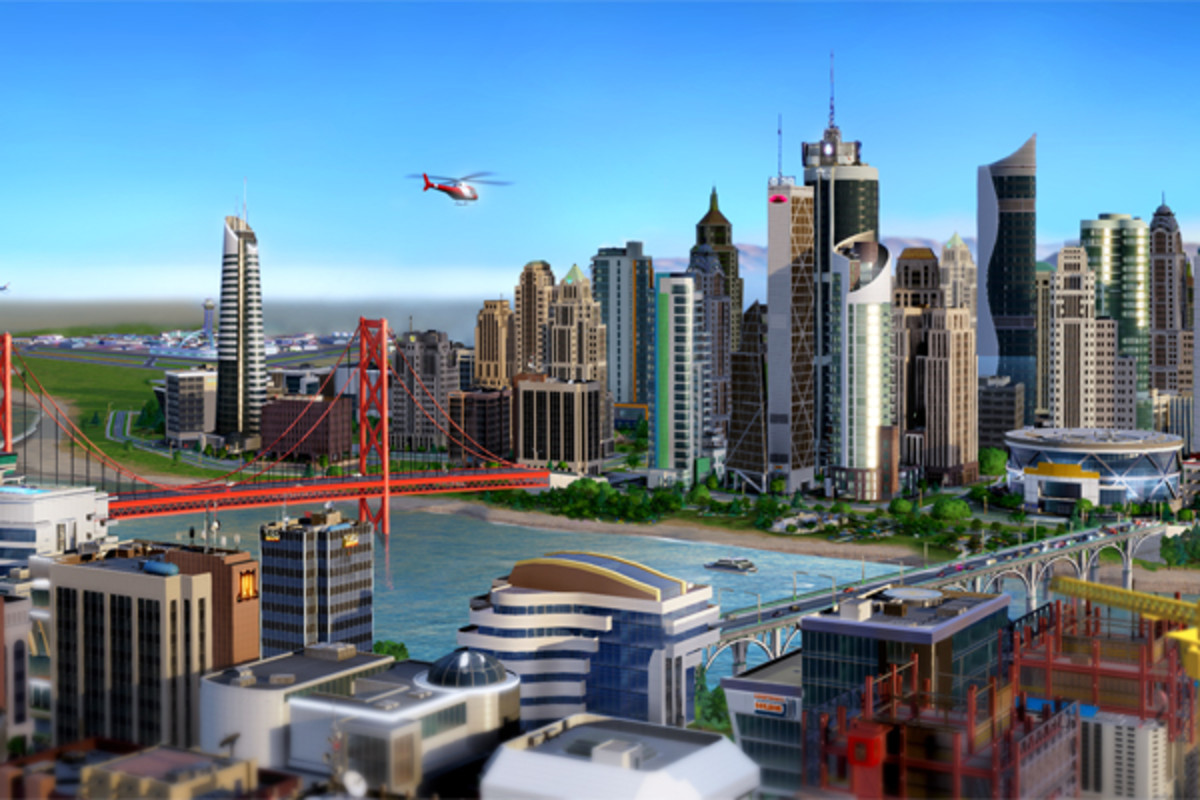 SimCity. (COURTESY OF ELECTRONIC ARTS)