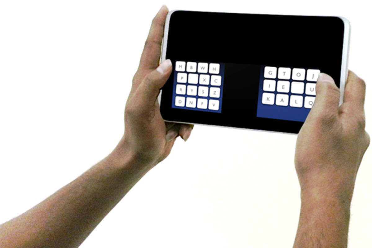 The KALQ keyboard. (PHOTO: MAX PLANCK INSTITUT FUR INFORMATIK)