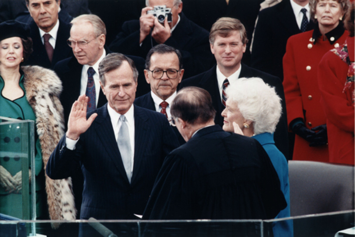 George H.W. Bush is one of the few sitting presidents in recent memory to lose re-election. (PHOTO: PUBLIC DOMAIN)