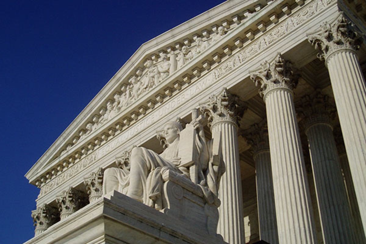 The United States Supreme Court building. (PHOTO: CC-BY-SA-3.0/MATT H. WADE)