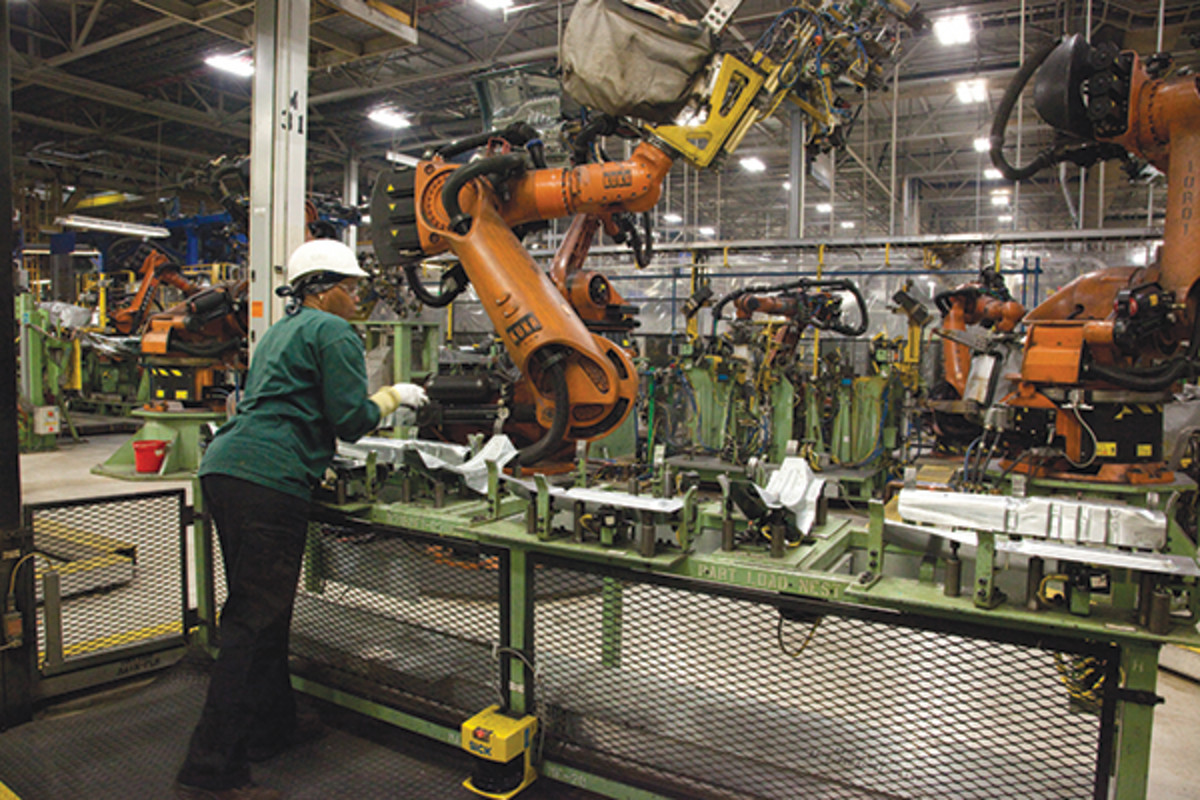 Alabama's automobile plant is exporting two-thirds of the vehicles they build—but the name on the plant itself is foreign.