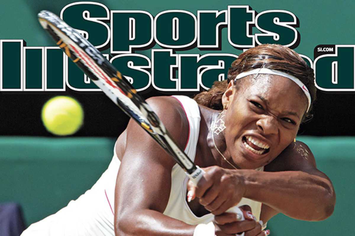 Serena Williams on the cover of SI. (SPORTS ILLUSTRATED)