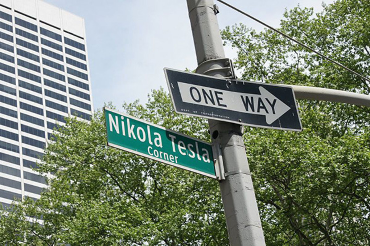 Nikola Tesla corner in Manhattan. (PHOTO: VALUGI/WIKIMEDIA COMMONS)