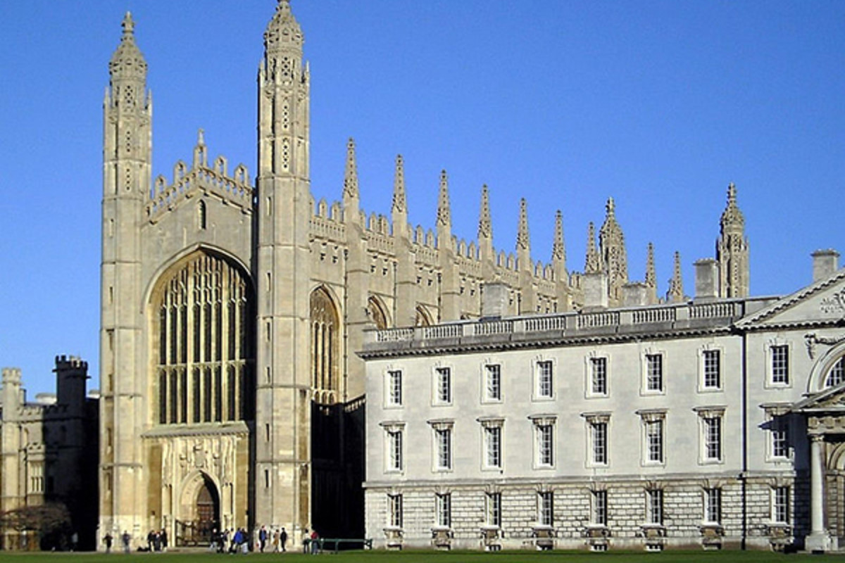 King's College Chapel. (PHOTO: CHRISTIAN RICHARDT/WIKIMEDIA COMMONS)
