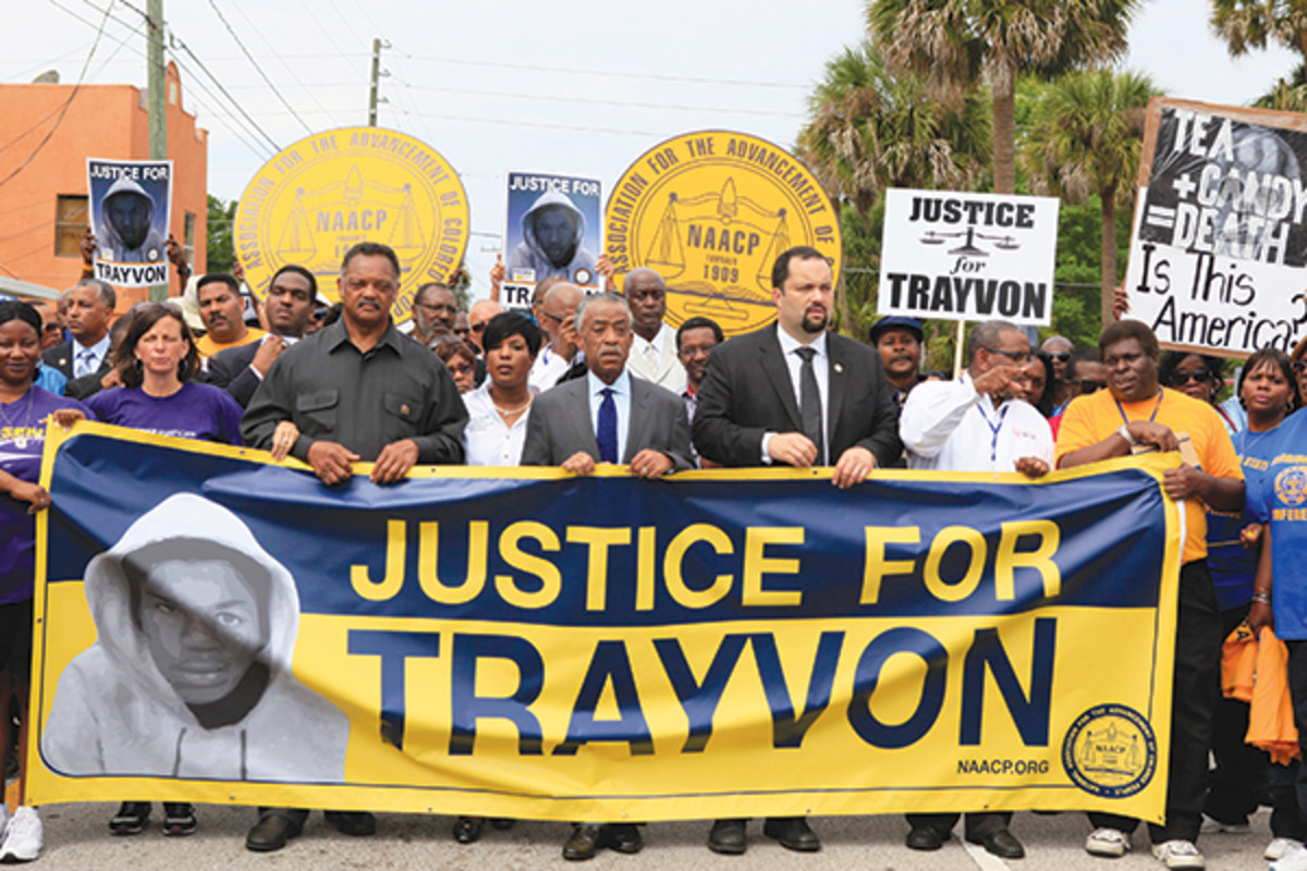 Rally for Trayvon Martin. (PHOTO: JULIE FLETCHER/AP/CORBIS)