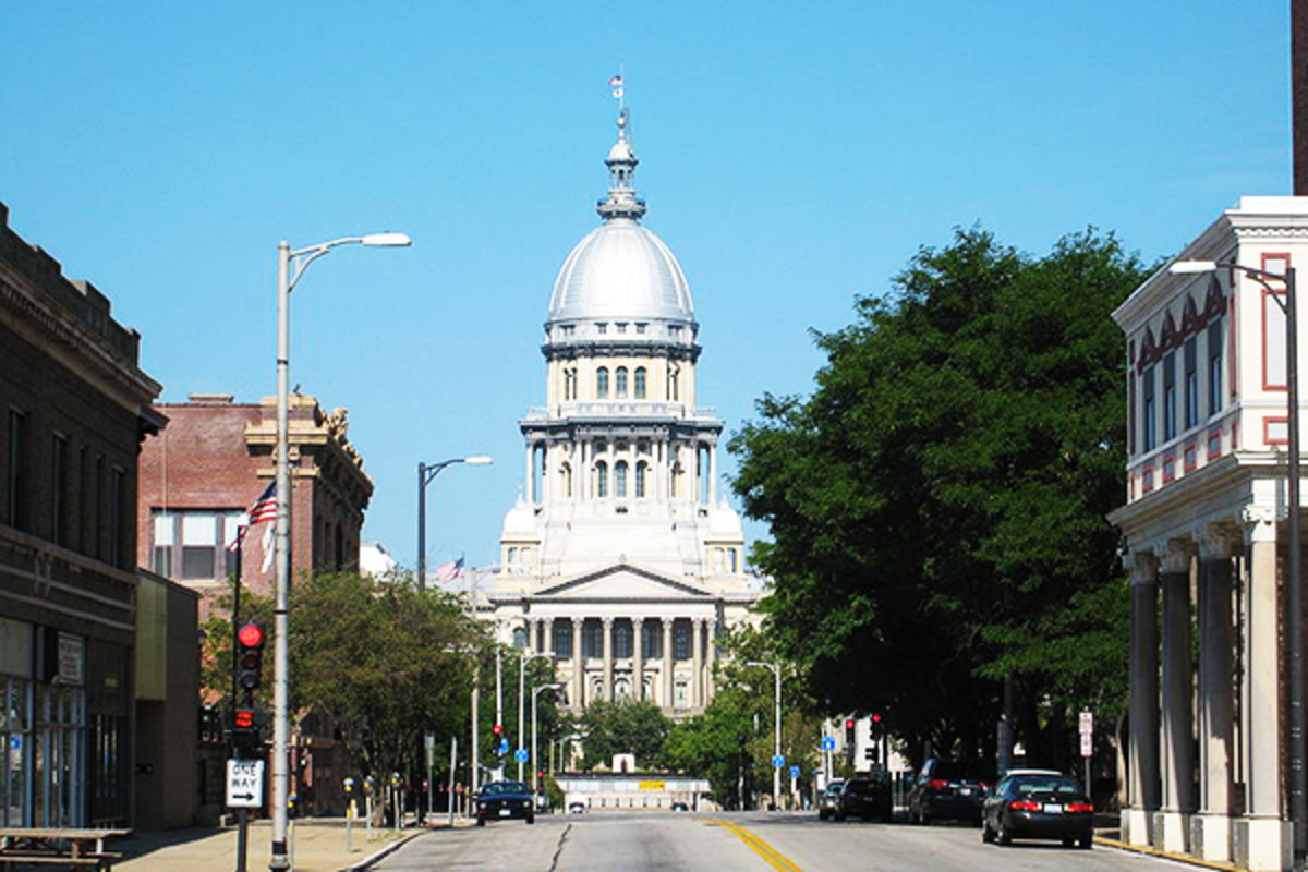 The Illinois State Capitol in Springfield, Illinois. (PHOTO: EOVART CACEIR/WIKIMEDIA COMMONS)