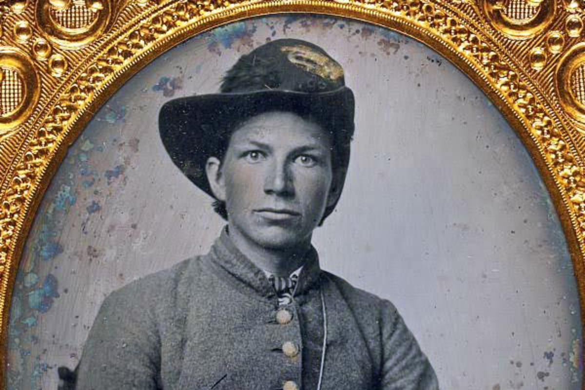 Young Confederate soldier. (PHOTO: PUBLIC DOMAIN)