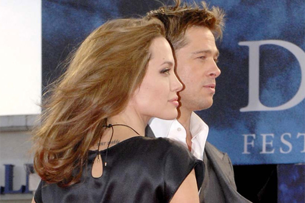 Angelina Jolie and Brad Pitt at the Deauville American Film Festival in Deauville, France, September 2007. (PHOTO: EFLOCH/WIKIMEDIA COMMONS)