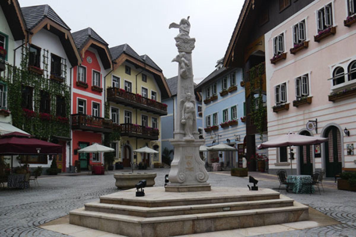 China's version of Hallstatt, Austria. (PHOTO: PUBLIC DOMAIN)