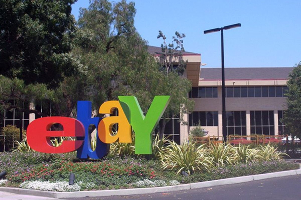 eBay headquarters in San Jose, California. (PHOTO: COOLCAESAR/WIKIMEDIA COMMONS)