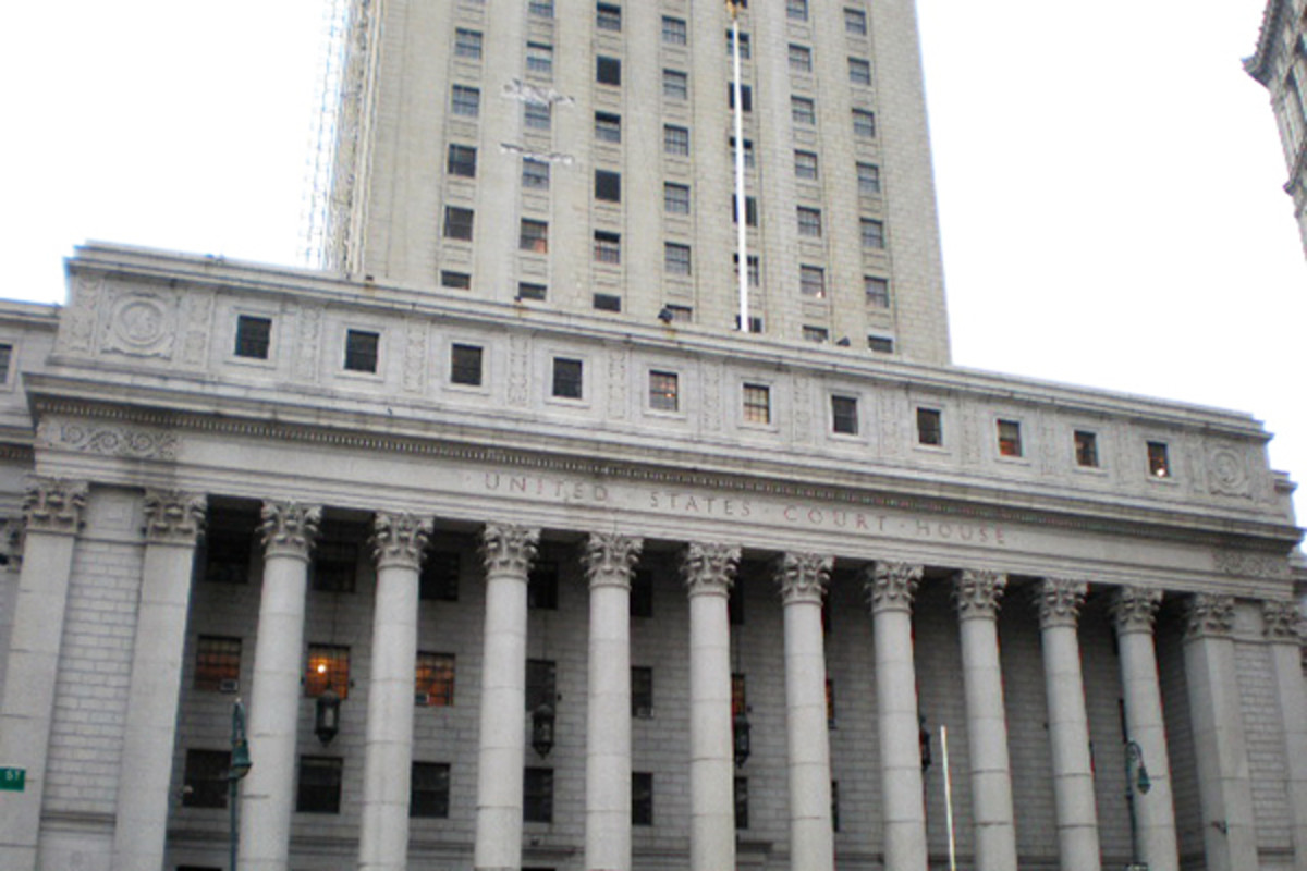 Thurgood Marshall United States Courthouse at 40 Centre Street. (PHOTO: SHEILA/WIKIMEDIA COMMONS)