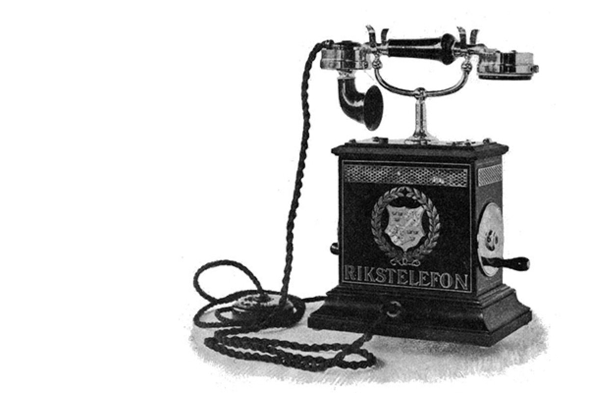 An 1896 telephone from Sweden. (PHOTO: PUBLIC DOMAIN)