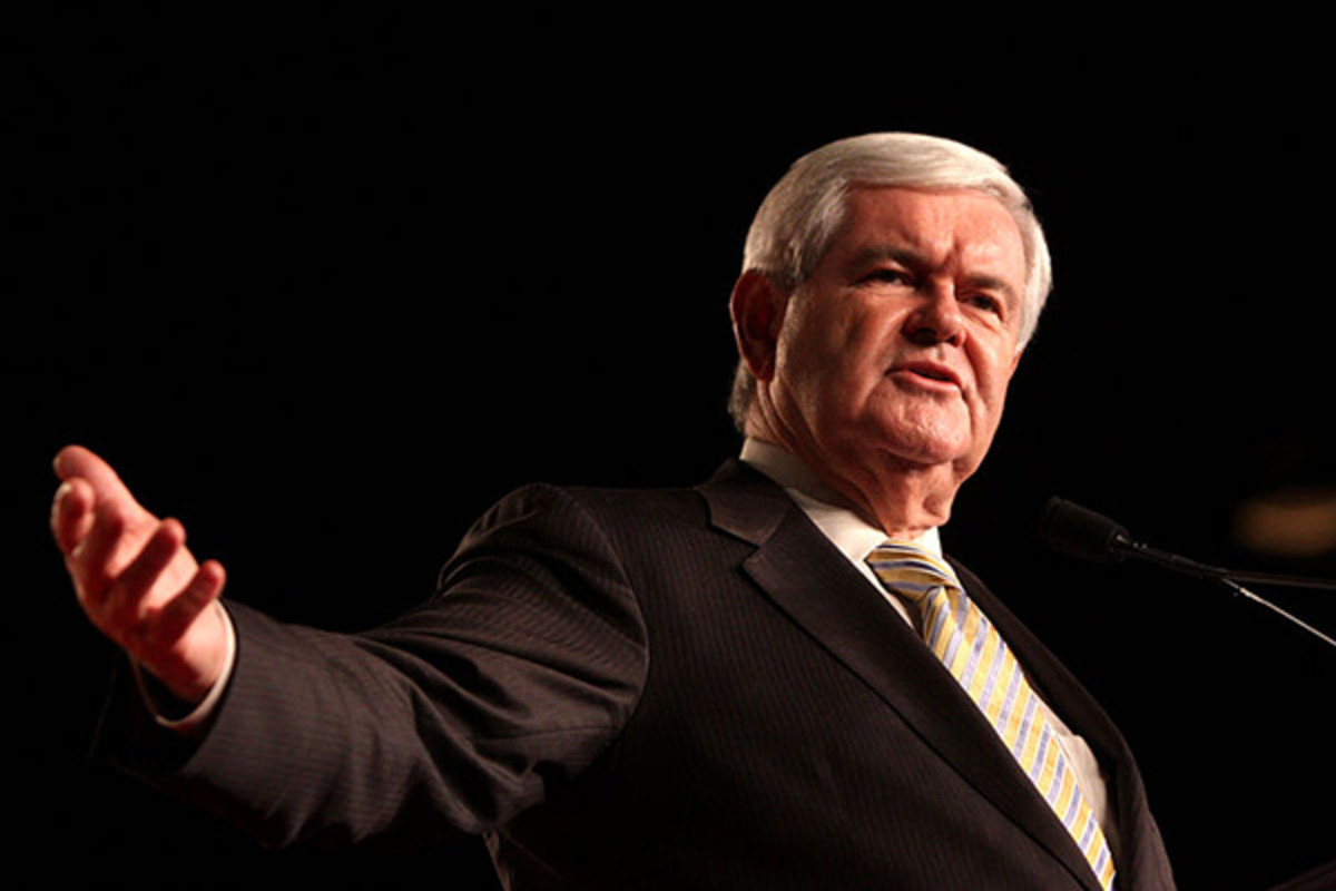 Newt Gingrich at a political conference during his 2012 presidential bid, in Orlando, Florida. (PHOTO: GAGE SKIDMORE/WIKIMEDIA COMMONS)