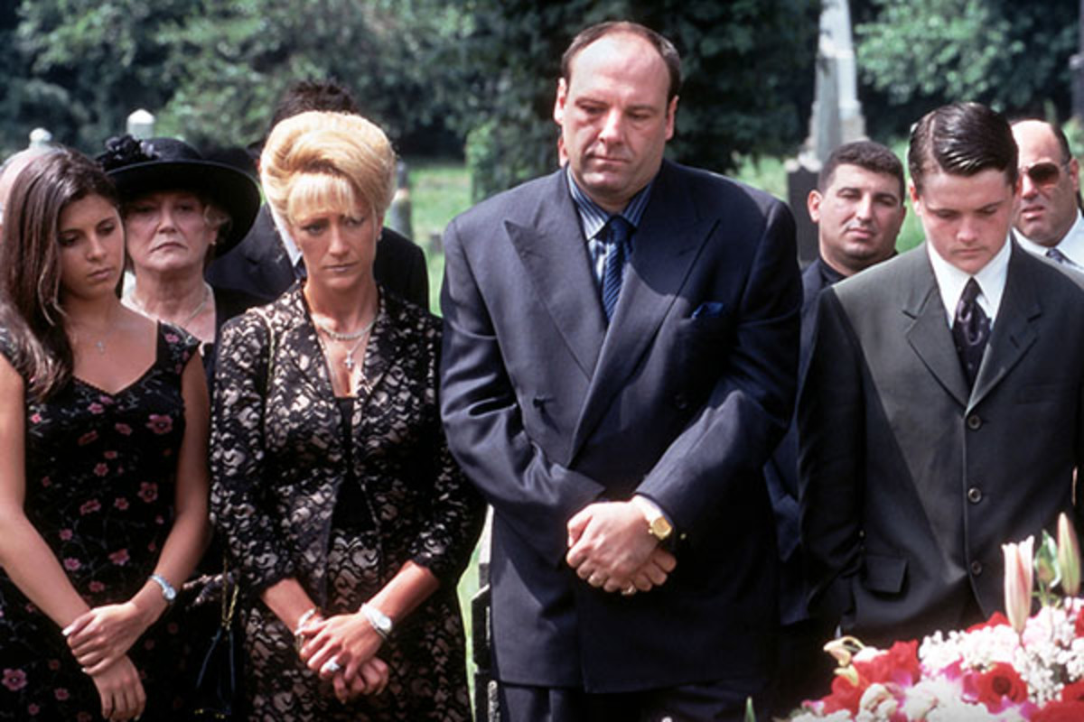 Still from The Sopranos. (PHOTO: COURTESY OF HBO)
