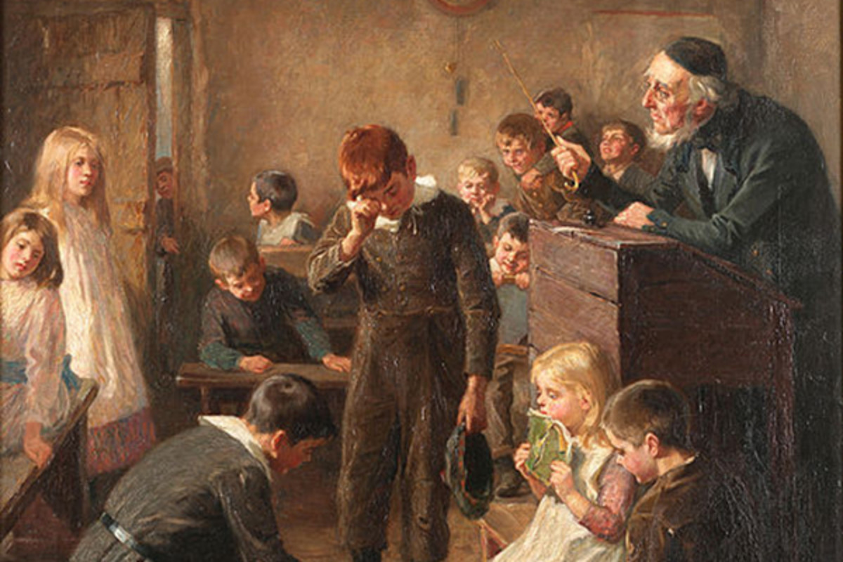 Ralph Hedley: The Truant's Log, 1899. (PAINTING: PUBLIC DOMAIN)