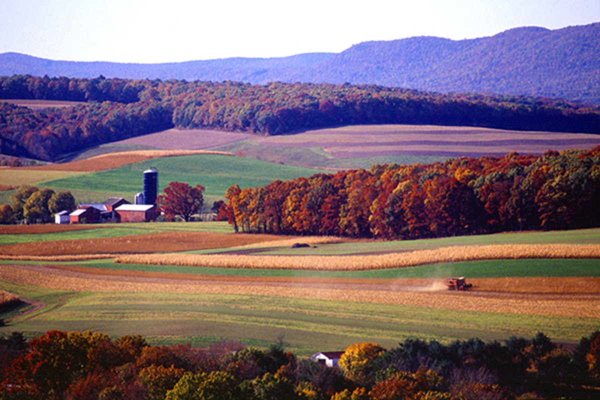 Farming near Klingerstown, Pennsylvania. (PHOTO: PUBLIC DOMAIN)