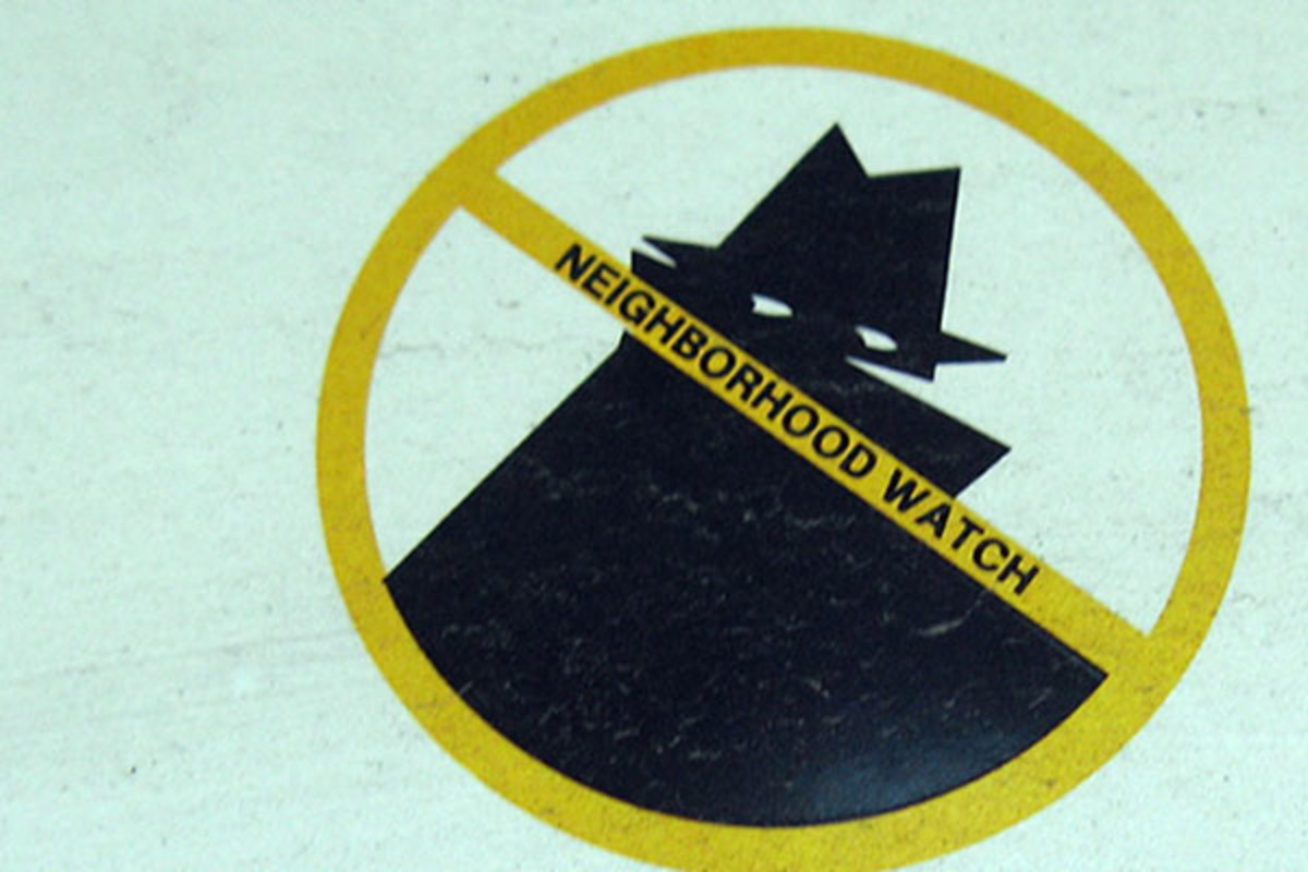 A neighborhood watch sign near Picayune, Mississippi. (PHOTO: PUBLIC DOMAIN)